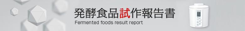 発酵食試作報告書