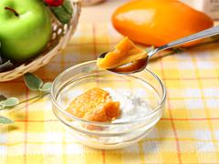 マンゴーのドライフルーツのヨーグルト漬け