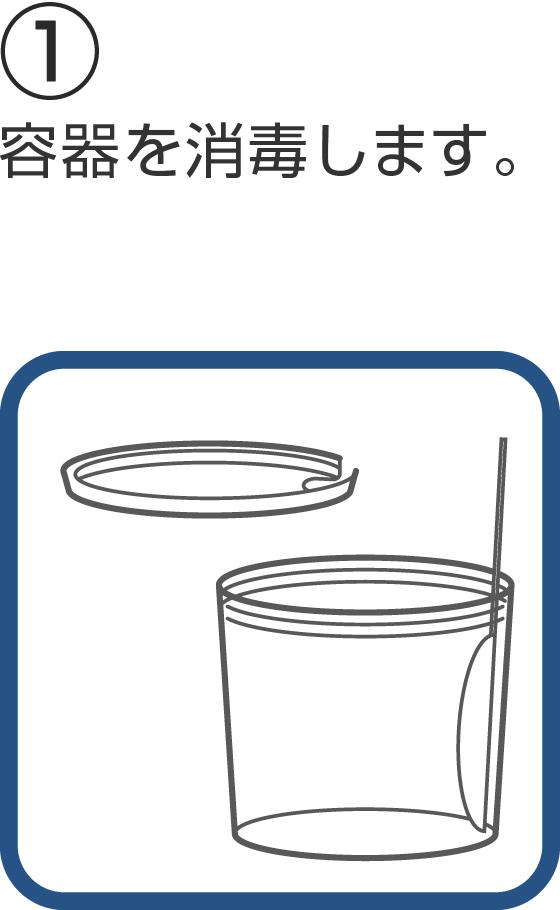 ヨーグルティアを使ったヨーグルトの作り方