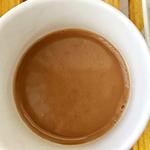 【作り方:甘酒】コーヒーのコクを邪魔せずほんのり甘くてホッコリします( ^ω^ )お豆同士で相性抜群!!「甘酒ソイラテ」