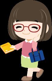 タニカ電器営業部 久田のイラスト