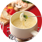 フロマージュ・ブラン2のチーズフォンデュ