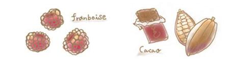 フランボワショコラのコンフィチュール